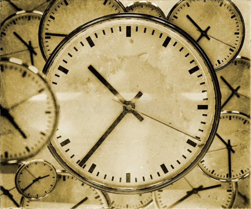 时钟背景摘要 库存照片