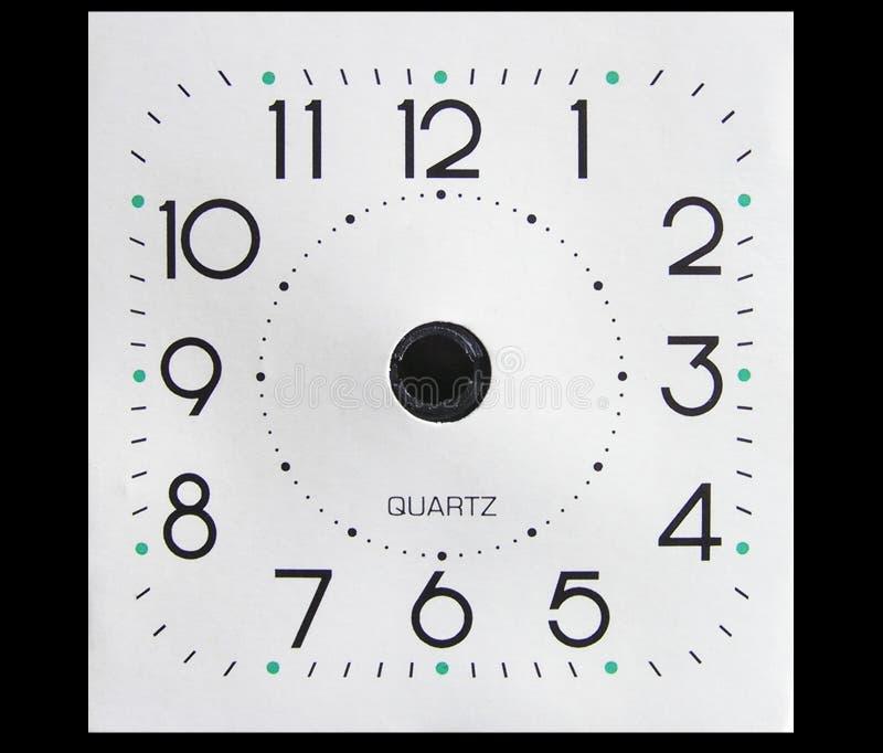 时钟表盘现有量 库存照片