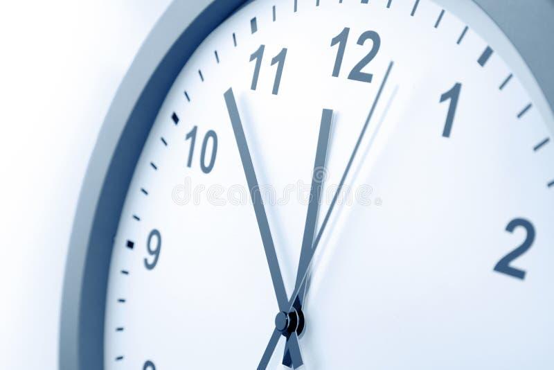 时钟表盘细节 图库摄影