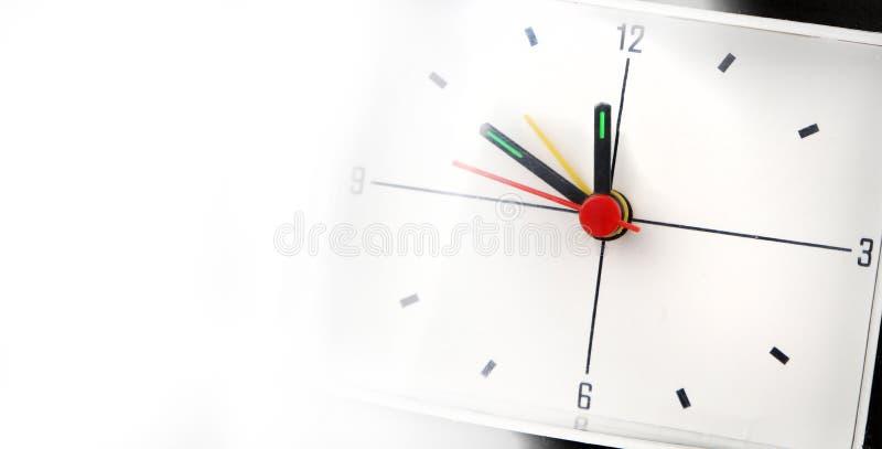 时钟表盘细节 免版税库存照片