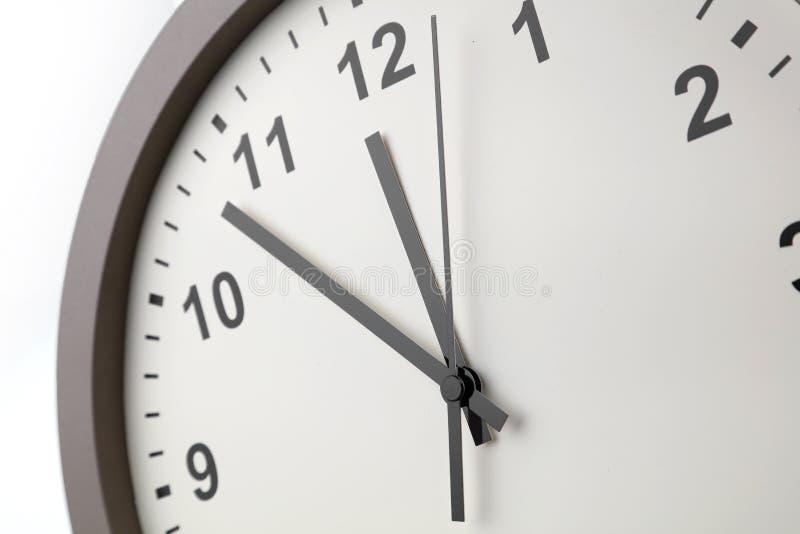 时钟表盘细节 免版税图库摄影