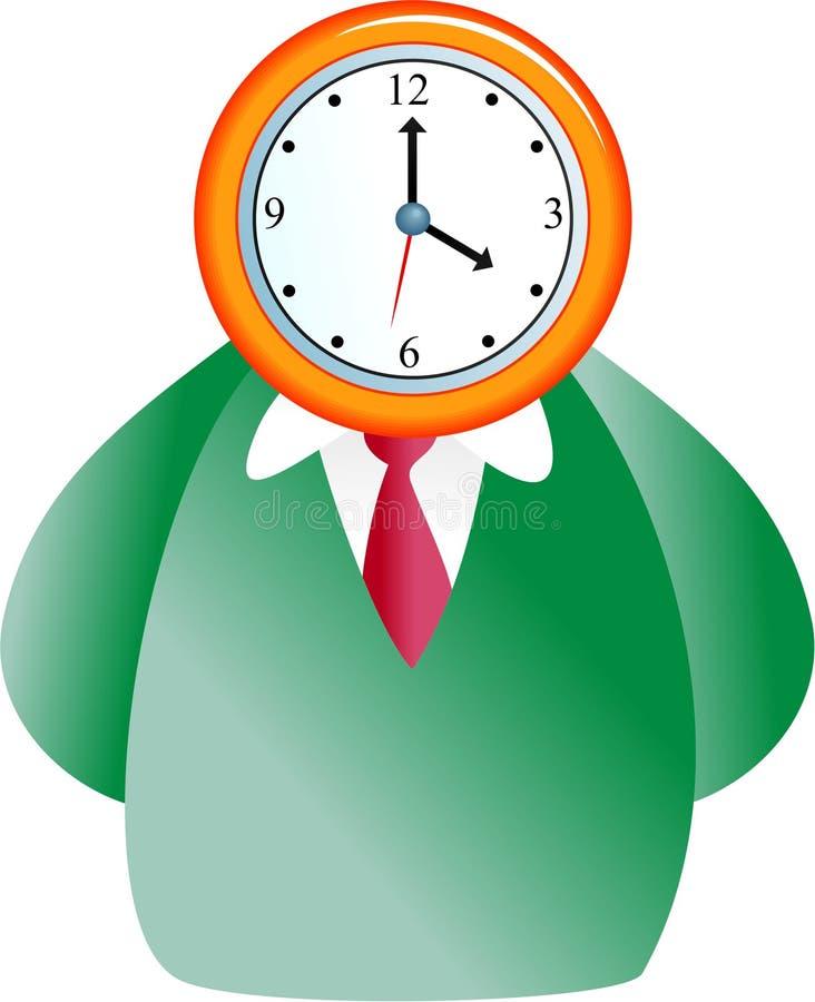时钟表盘 皇族释放例证