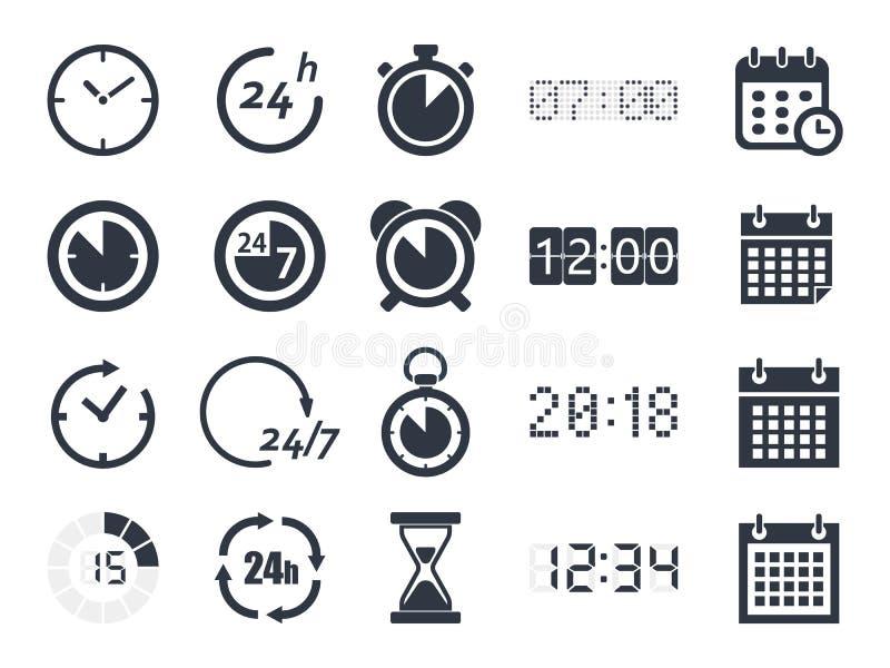 时钟象 向量例证