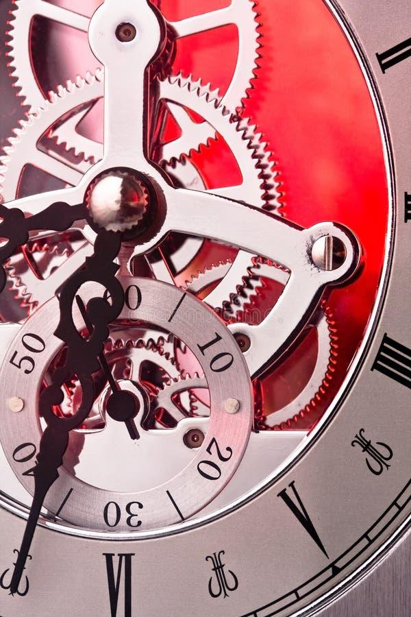 时钟齿轮 免版税库存图片