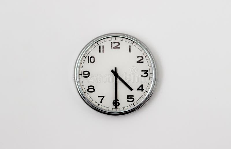 时钟4:30 免版税库存照片