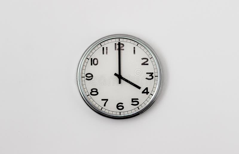时钟4:00 库存照片