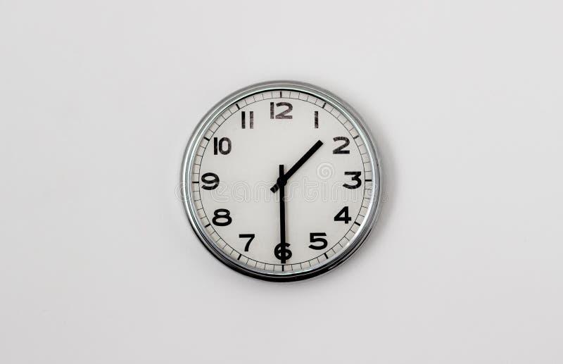 时钟1:30 库存照片