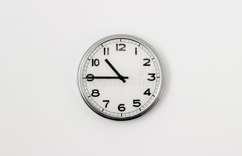 时钟10:45 库存照片
