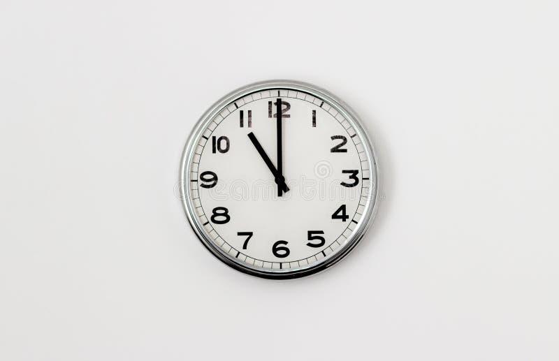 时钟11:00 库存图片