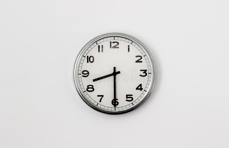 时钟8:30 库存照片