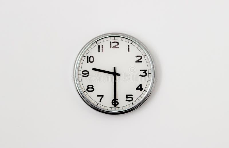 时钟9:30 免版税库存照片
