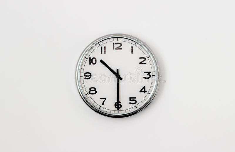时钟10:30 免版税库存图片