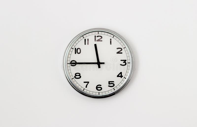 时钟11:45 免版税库存照片