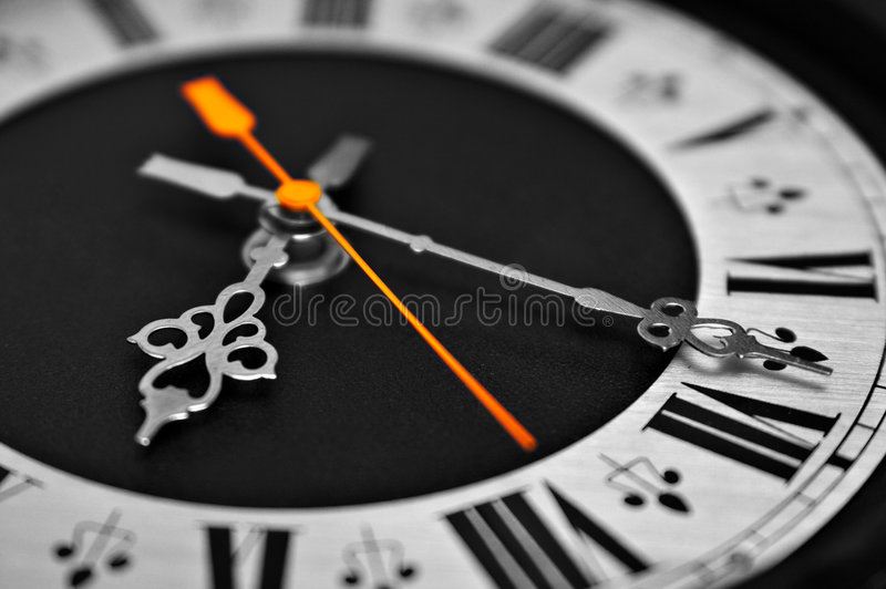 时钟 免版税库存图片