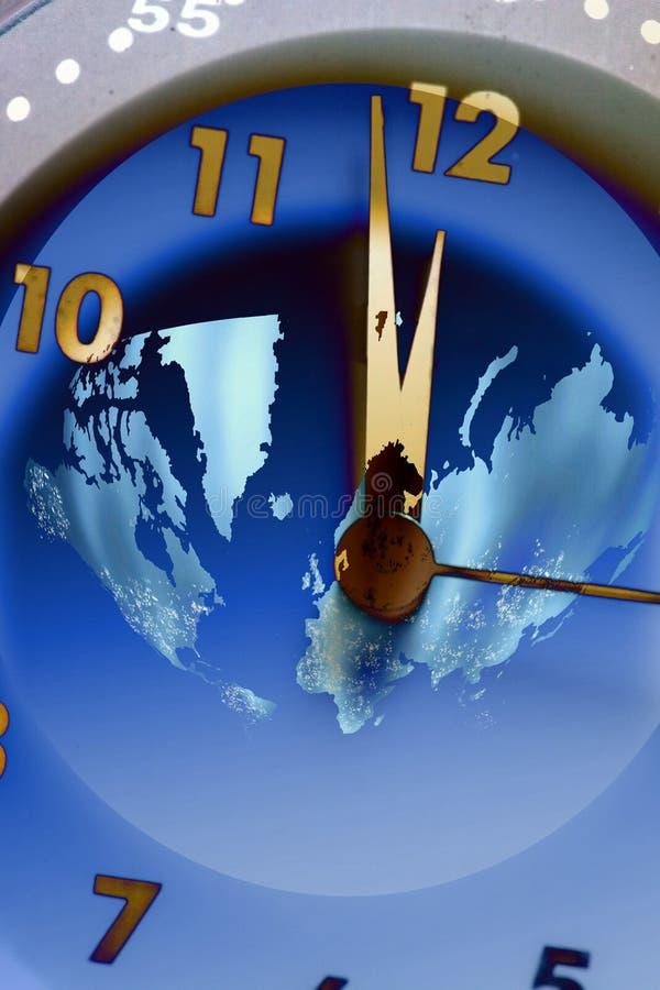 时间世界 库存例证
