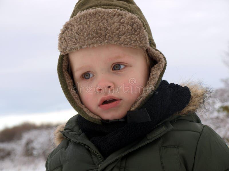 时间冬天 库存照片