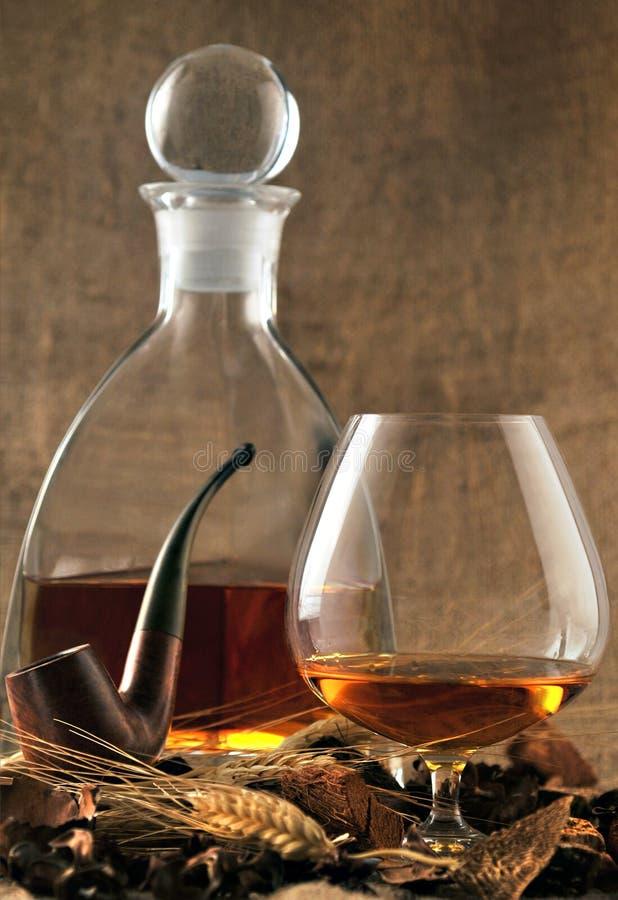 时间威士忌酒 库存照片