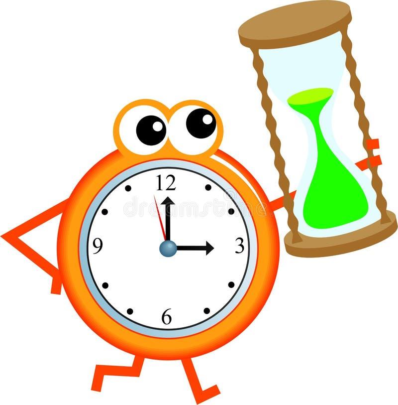 时间定时器 向量例证