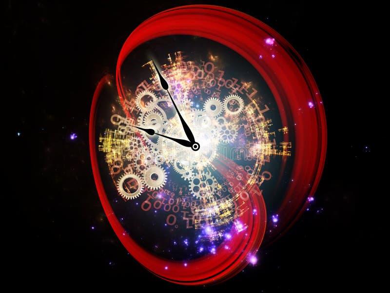 时间数字  库存例证