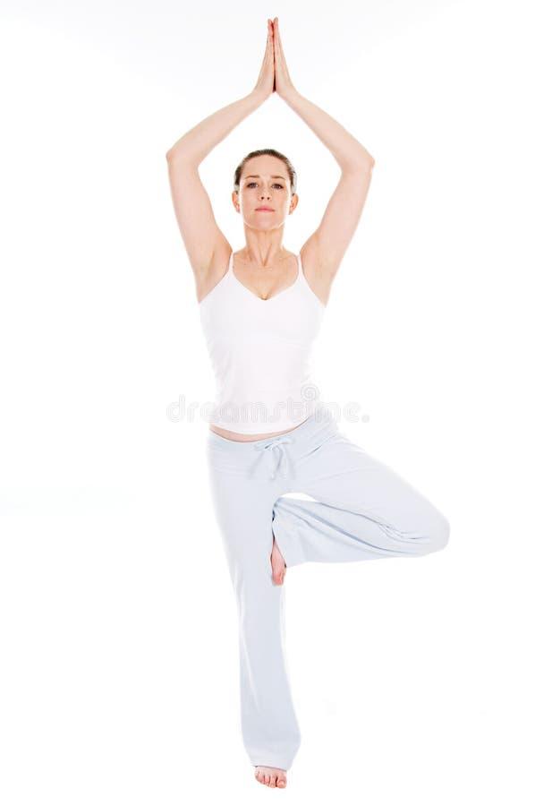时间瑜伽 库存图片