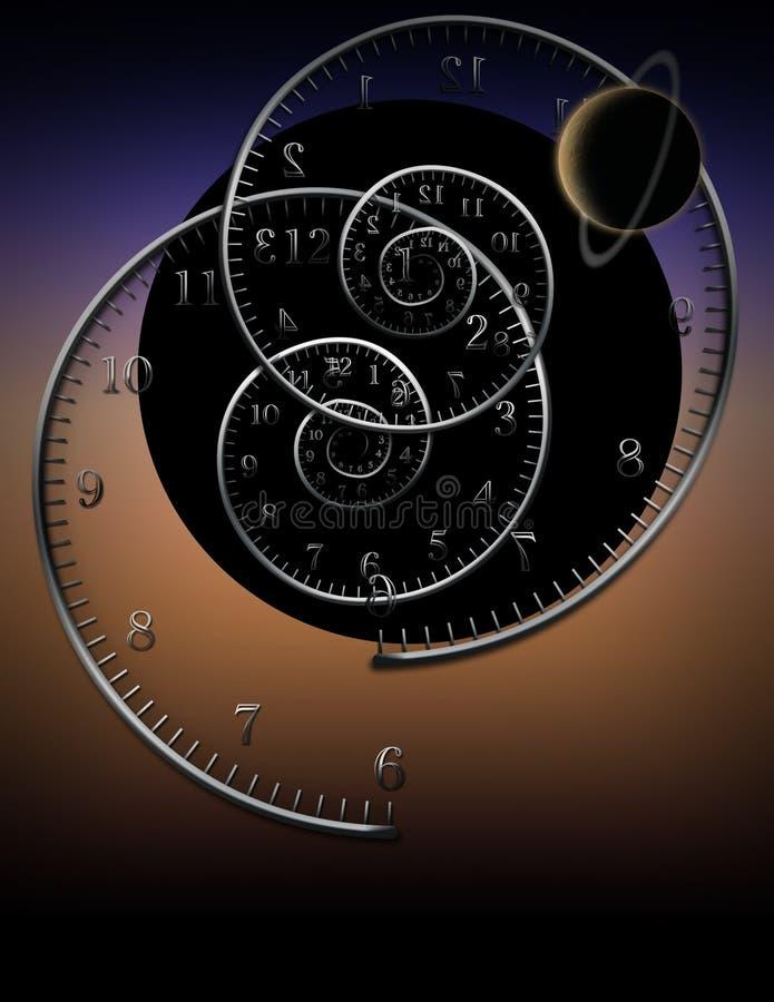 时间神话  向量例证
