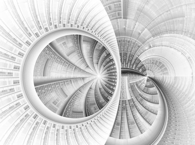 时间轮子 向量例证