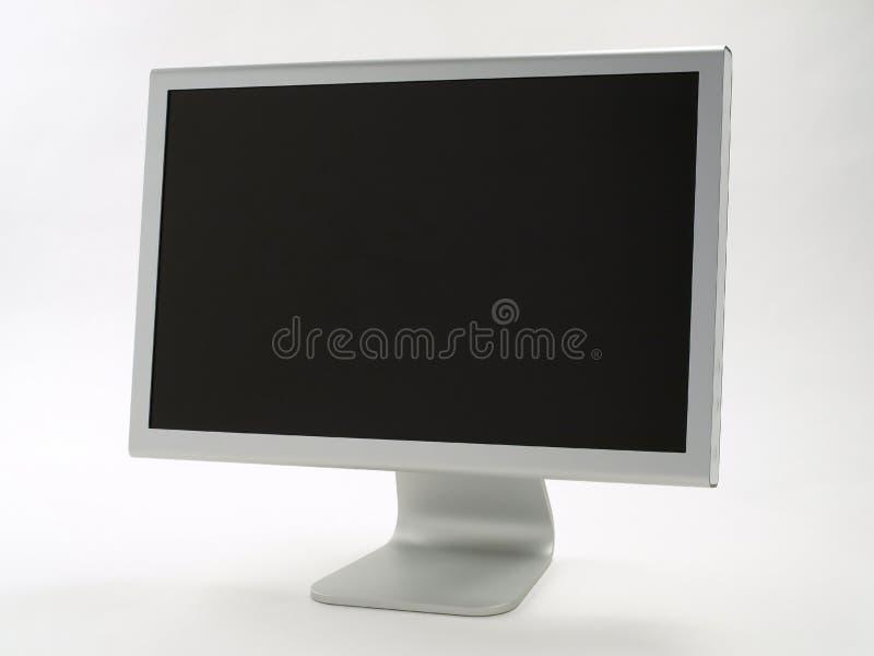 时髦平面的监控程序的面板 免版税库存照片