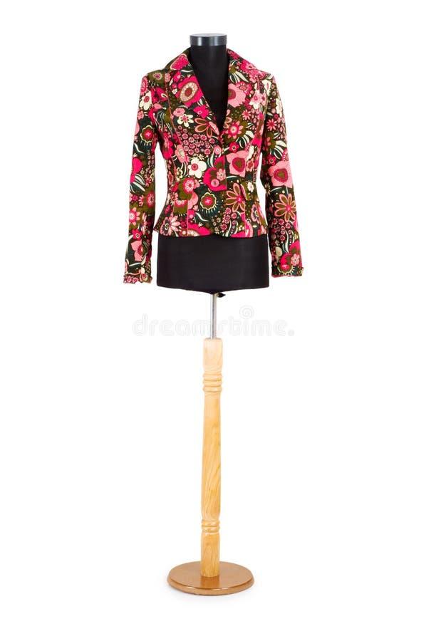 时髦查出的夹克 免版税库存图片