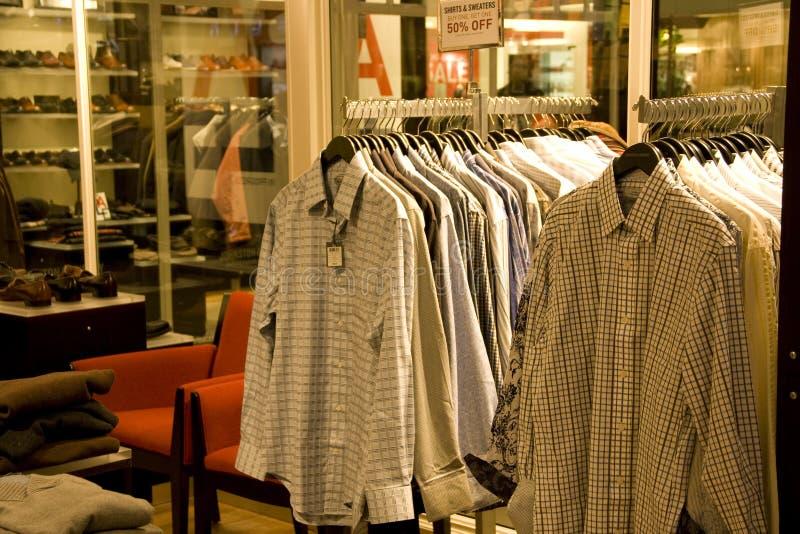 时髦的人衣物 免版税库存图片