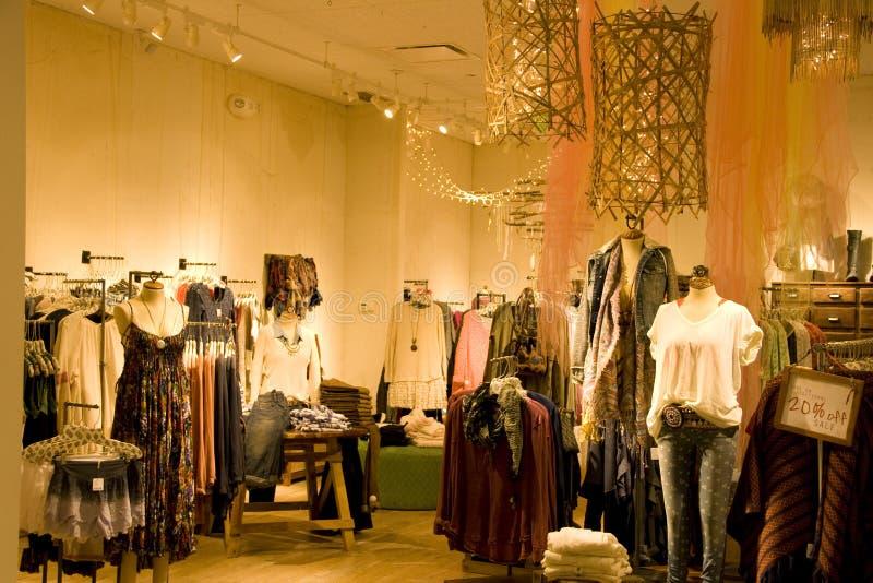 时髦的妇女衣物 免版税库存图片