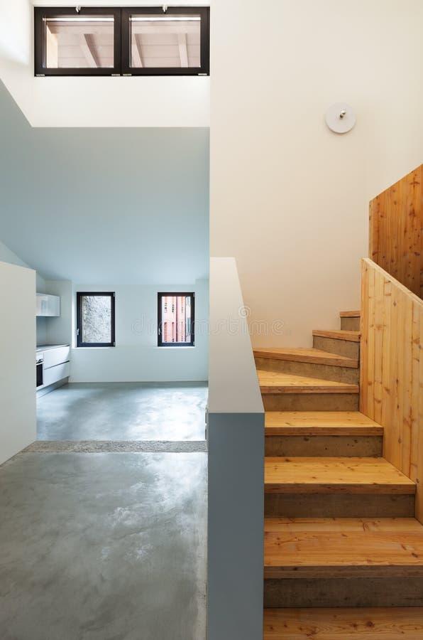 内部现代房子 库存照片