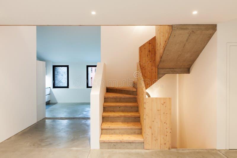 内部,楼梯 免版税图库摄影