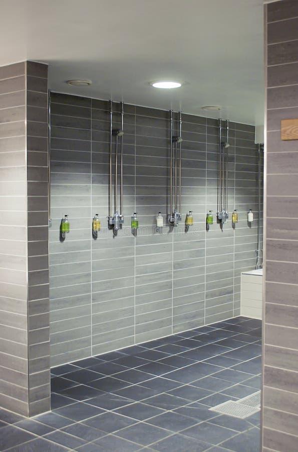 时髦的浴室 库存照片