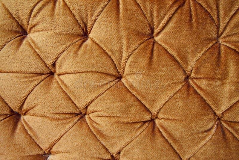时髦织品金黄的瘤 免版税库存照片