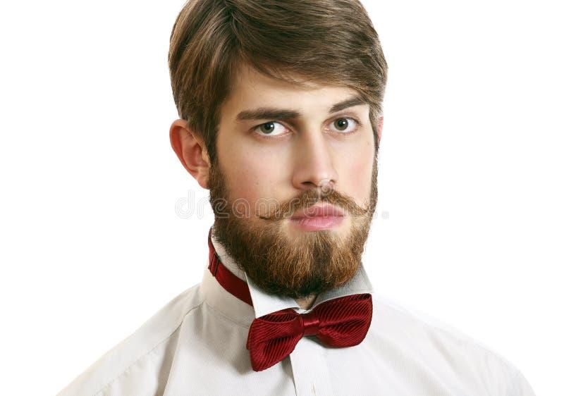 时髦英俊的人 库存图片