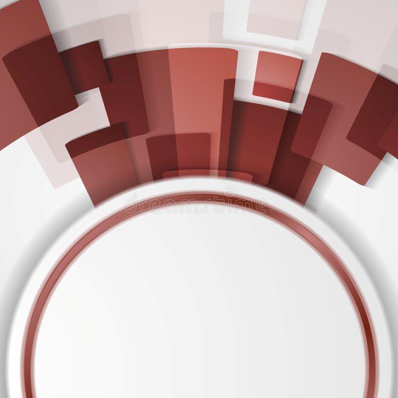 时髦颜色marsala 2015年 技术摘要 皇族释放例证