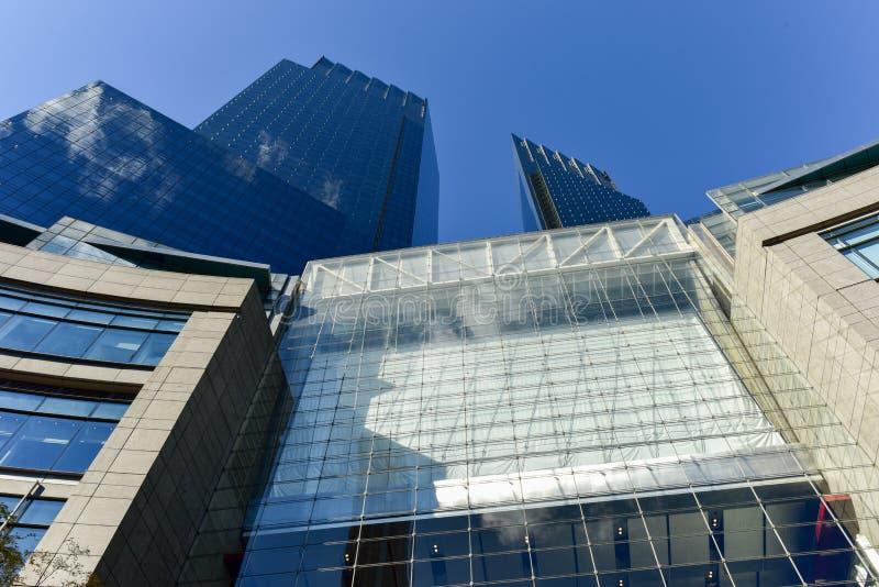 时代华纳中心-纽约 免版税图库摄影