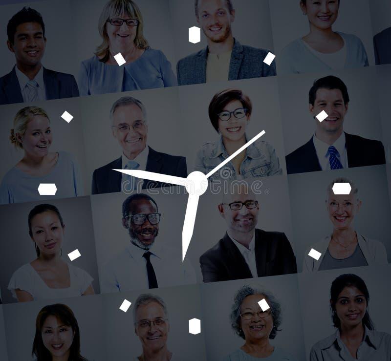 时间安排时钟警报措施概念 免版税库存图片