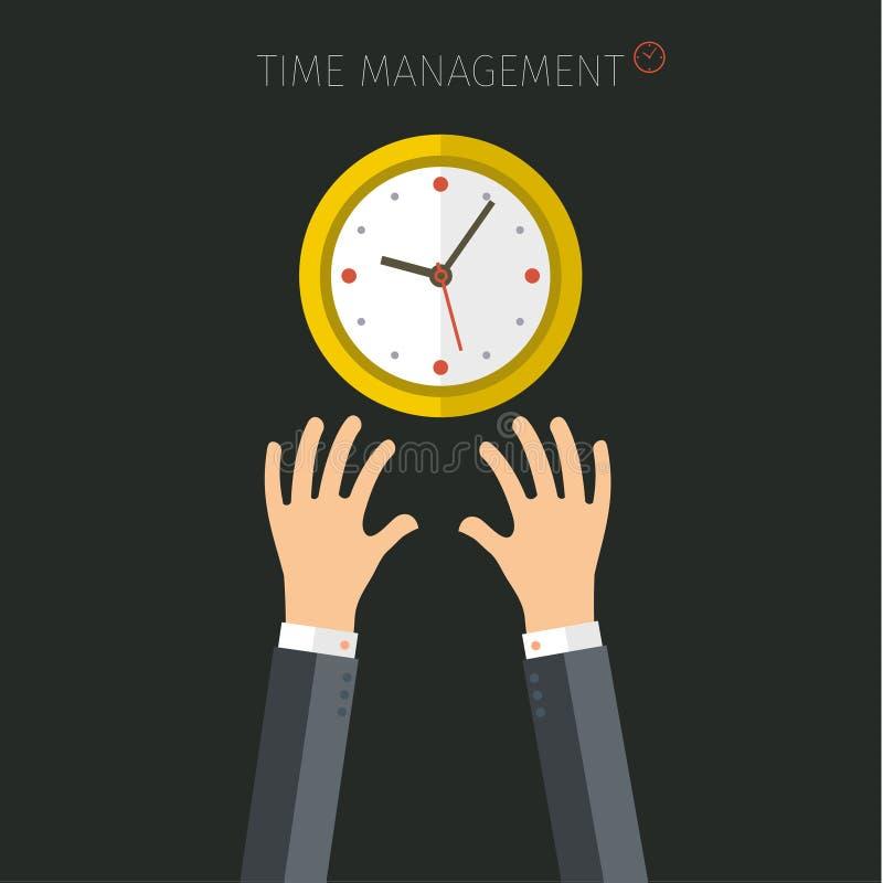 时间安排的概念 库存例证