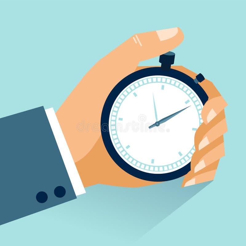 时间安排 库存例证