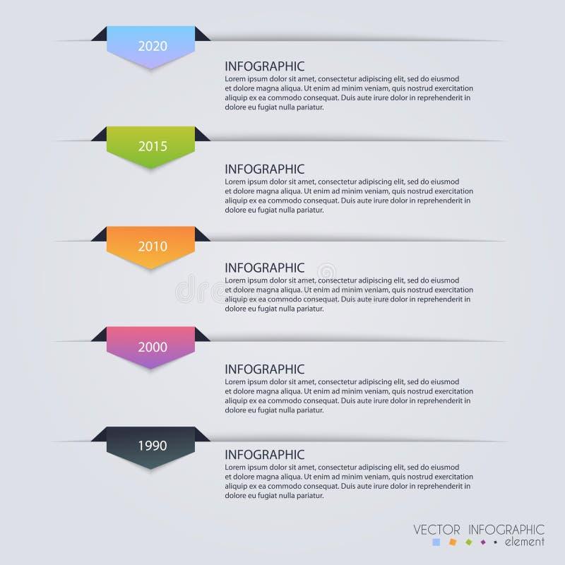 时间安排Infographic设计模板 图、图和othe 向量例证