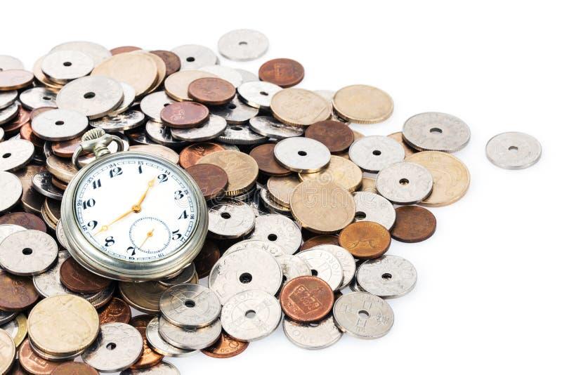 时间是金钱 图库摄影