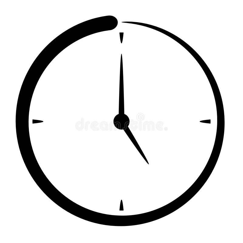 时间消逝象守时概念图片