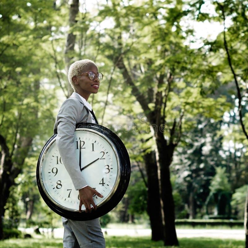 时间迫切闹钟机会准时概念 免版税图库摄影