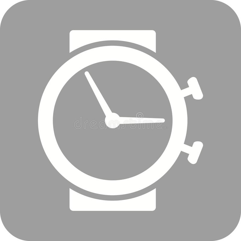 时间 库存例证