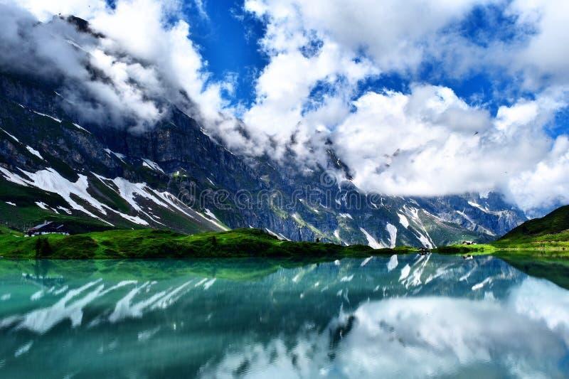 昂热尔贝格,瑞士 库存图片