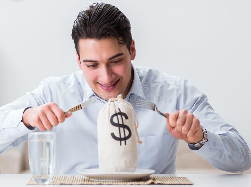 昂贵用餐的概念在餐馆 库存照片