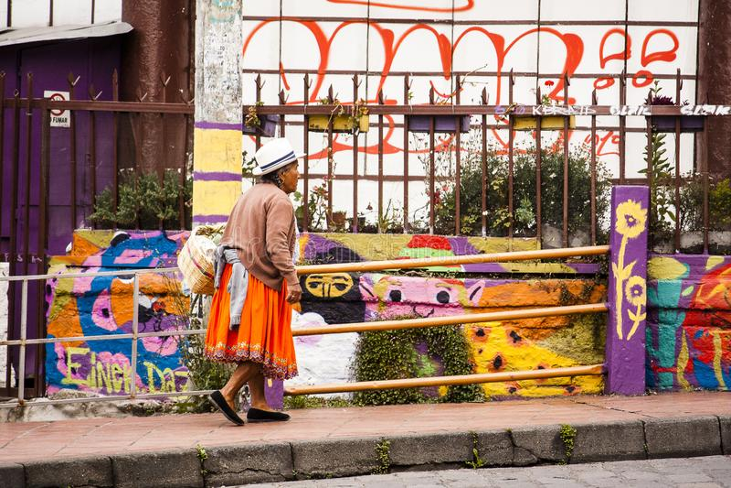 昆卡省,厄瓜多尔口味  库存图片