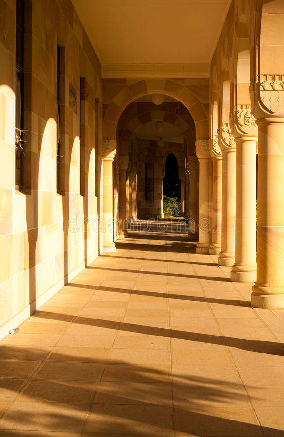 昆士兰大学 免版税库存图片