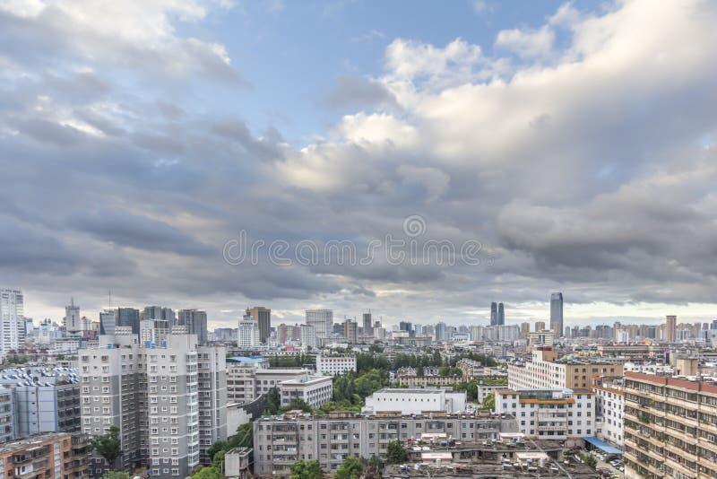 昆明市,云南,中国 库存图片